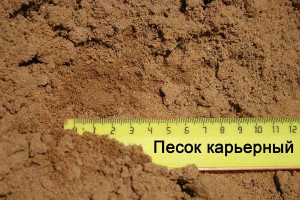 Какой песок нужен для изготовления тротуарной плитки
