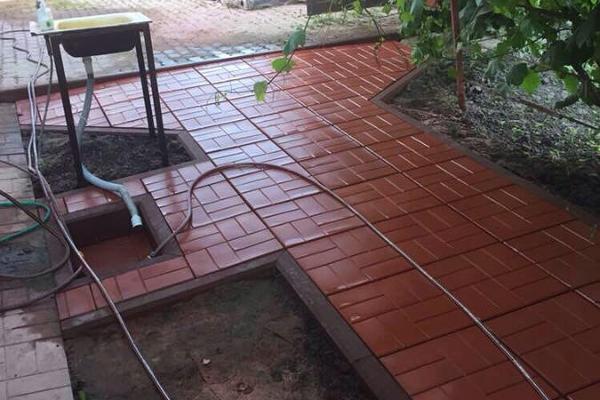 Тротуарная плитка для садовой дорожки