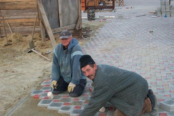 Дефекты тротуарной плитки